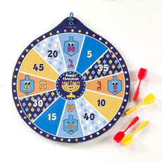 Chanukah Dart Game with Magnetic Darts