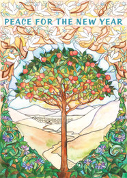 New Year Tree of Life Packaged New Years Cards