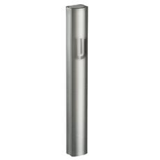 Gray Tone on Tone Aluminum Mezuzah