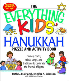 The Everything Kids' Hanukkah Puzzle and Activity Book
