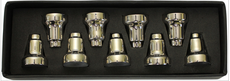 Chanukah Menorah Drip Cups - Nickel