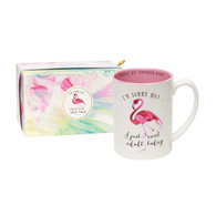 Flamingo Mug, I can't adult today