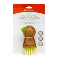 Tater Mate Eye-Removing Potato Scrubber Green