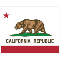 Magic Slice Cutting Board - California Flag