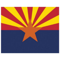 Magic Slice Cutting Board - Arizona Flag