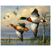 Magic Slice Cutting Board - Cypress Swamp Mallards