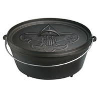 Lodge 12 Inch / 6 Quart Boy Scout Camp Dutch Oven