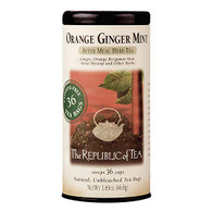 Orange Ginger Mint Herbal Tea by Republic of Tea