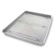 USA Half Sheet Nonstick Cooling Rack Set