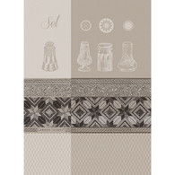 Garnier Thiebaut SEL BLANC KITCHEN TOWEL