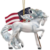 Trail of Painted Ponies - Unconquered Ornament  4058161