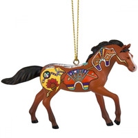 Trail of Painted Ponies - Spirit Bear Pony Ornament  -  4058518