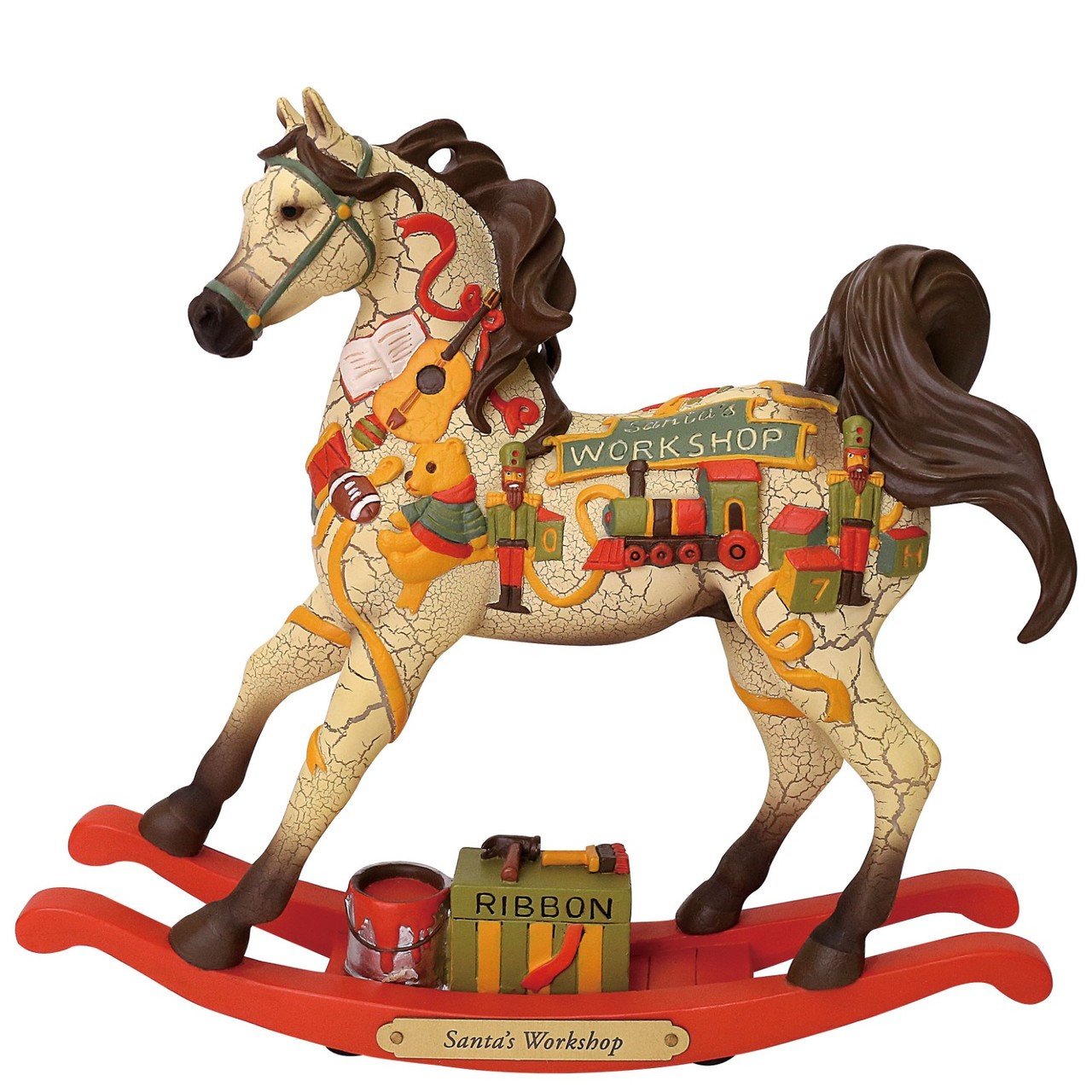 Christmas Horse Tack.Trail Of Painted Ponies Santa S Workshop Christmas Horse 6001112