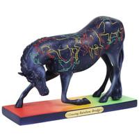 RETIRED - Trail of Painted Ponies  Crossing Rainbow Bridge 6001097