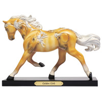 RETIRED - Trail of Painted Ponies Palomino Golden Girls 6006150