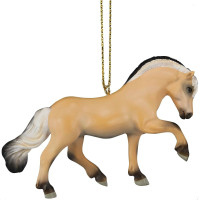 Trail of Painted Ponies Little Big Horse Norwegian Fjord Ornament 4058160