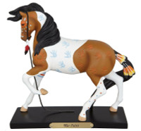 Trail of Painted Ponies War Paint Horse Figurine 4046345