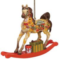 RETIRED - Trail of Painted Ponies Santa's Workshop  Ornament 6001113