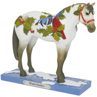 Trail of Painted Ponies  Winter Feathers Christmas Horse 6007463