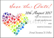 Heart of hearts Save the Date