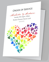 Heart of Hearts Order of Services