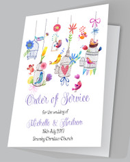 Love Birds Order of Services