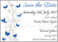 Butterfly Save the Date