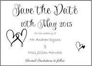 Wishes Save the Date