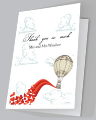 Love is in the Air Thank you card