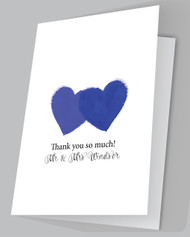 Painted Love Thank you Card.