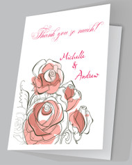 Flowers Thank you cards