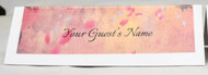 Cherry Blossom Place Name Card