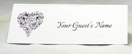 """""""Isabelle"""" Heart Place name Cards"""
