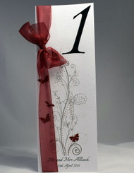 Butterfly Table Number (freestanding)