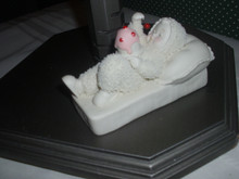 DEPT.56-2013- SNOWBABIES FIGURINE-WITH A CHERRY ON TOP