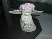 DEPT.56 PORCELAIN SNOWBABIES  FIGURINE- ANGEL OF COMFORT.