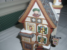 DEPT.56. DICKENS' VILLAGE PORCELAIN BUILDING-OLDE PEARLY'S TOBY JUGS