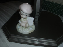 PRECIOUS MOMENTS BABY COLLECTION FIGURINE- LOVING YOU DEAR VALENTINE