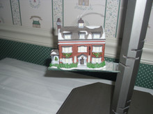 "DEPT. 56- CHARLES DICKENS HERITAGE VILLAGE ORNAMENT -""GAD'S HILL PLACE"""