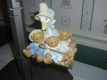 CHERISHED TEDDIES-MOTHER GOOSE AND FRIENDS FIGURINE