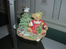 CHERISHED TEDDIES 1997 FALL CATALOG EXCLUSIVE FIGURINE- LYNN
