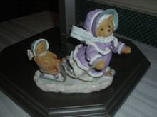 CHERISHED TEDDIES -WINTER FIGURINE-GRETCHEN