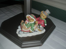 CHERISHED TEDDIES-LINDSEY AND LYNDON FIGURINE
