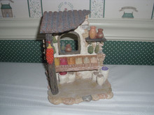 """FONTANINI 5"""" COLLECTION- VILLAGE PIECE-SPICE SHOP-NEW"""