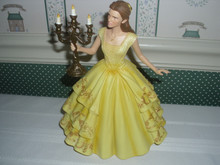 DISNEY-CINEMATIC MOMENT- BELLE FROM LIVE MOVIE-NEW IN BOX