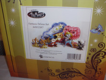 WORLD OF MISS MINDY-DISNEY- FANTASIA DELUXE SET OF 5 FIGURINES-NEW IN BOX