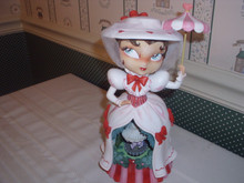 WORLD OF MISS MINDY-DISNEY MARY POPPINS MUSICAL FIGURINE-NEW IN BOX