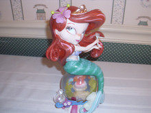WORLD OF MISS MINDY-DISNEY SHOWCASE DELUXE-LITTLE MERMAID FIGURINE- ARIEL-NEW IN BOX-