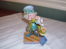 DISNEY TRADITIONS/JIM SHORE MAD HATTER FIGURINE FROM ALICE IN WONDERLAND-NEW IN BOX