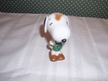 """DEPT. 56 PEANUTS-SNOOPY BY DESIGN-DIRTY DOG PORCELAIN  FIGURINE-3""""H"""